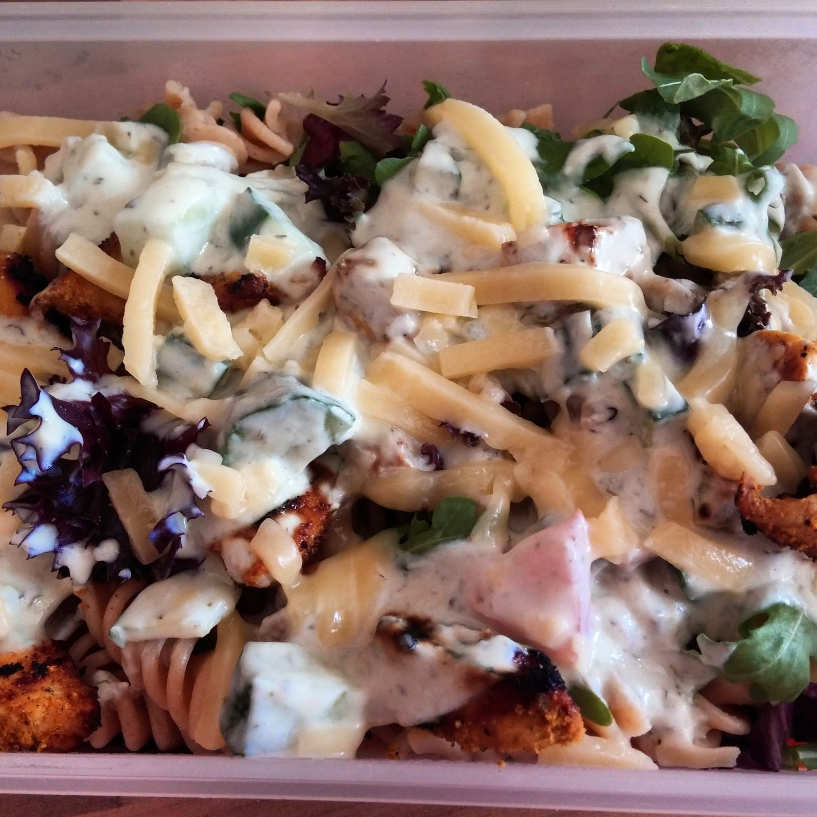 Recipe: Slimming World Chargrilled Chicken Spinach & Pasta Salad