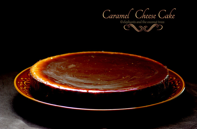 Caramel Cheese Cake ~ Chit Chat with Meena Kumar