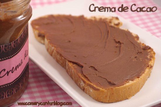 "Crema de Cacao ""light"" (nutella o nocilla casera -y light-)"