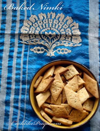 oven baked indian snacks