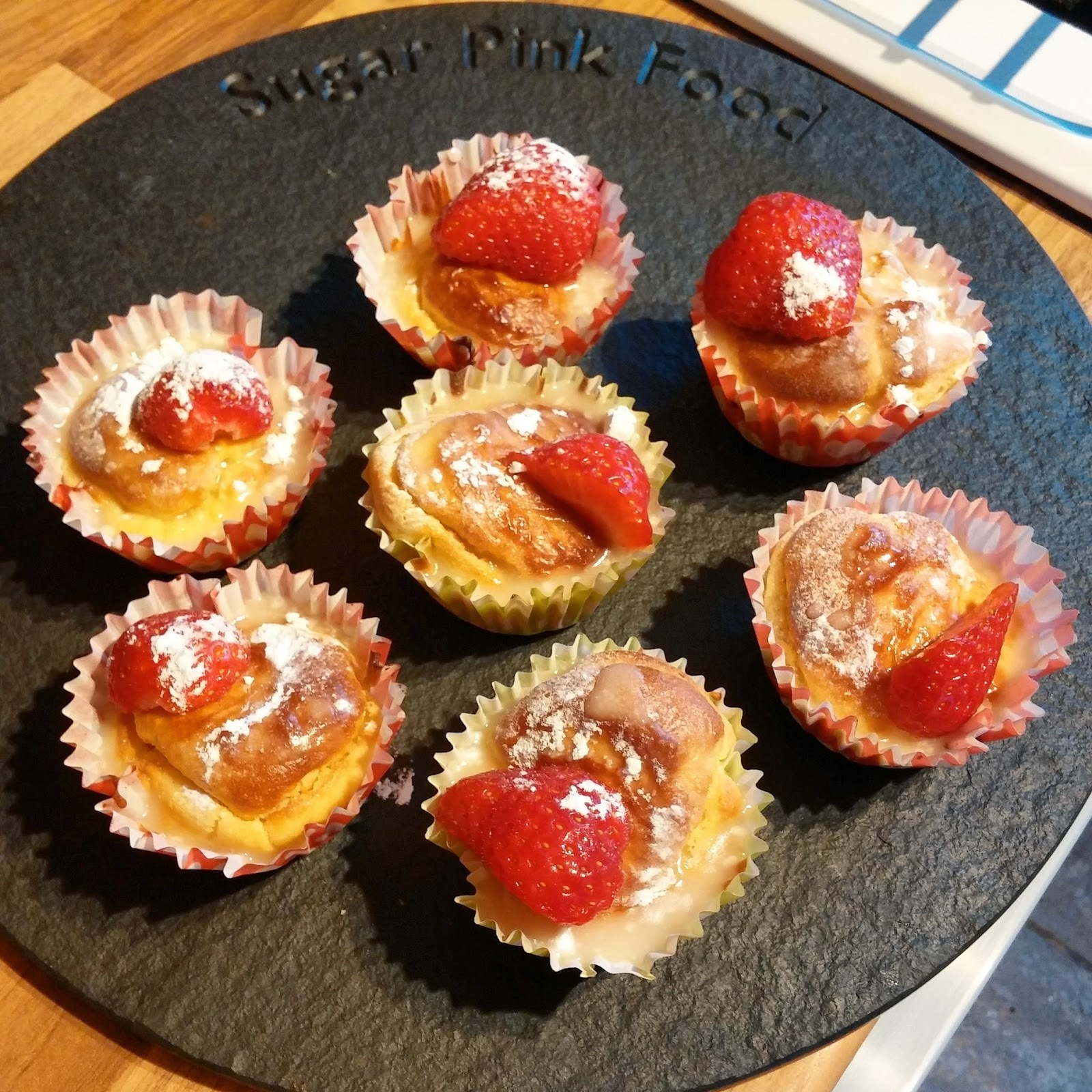 Recipe: Slimming World Strawberry Cupcakes