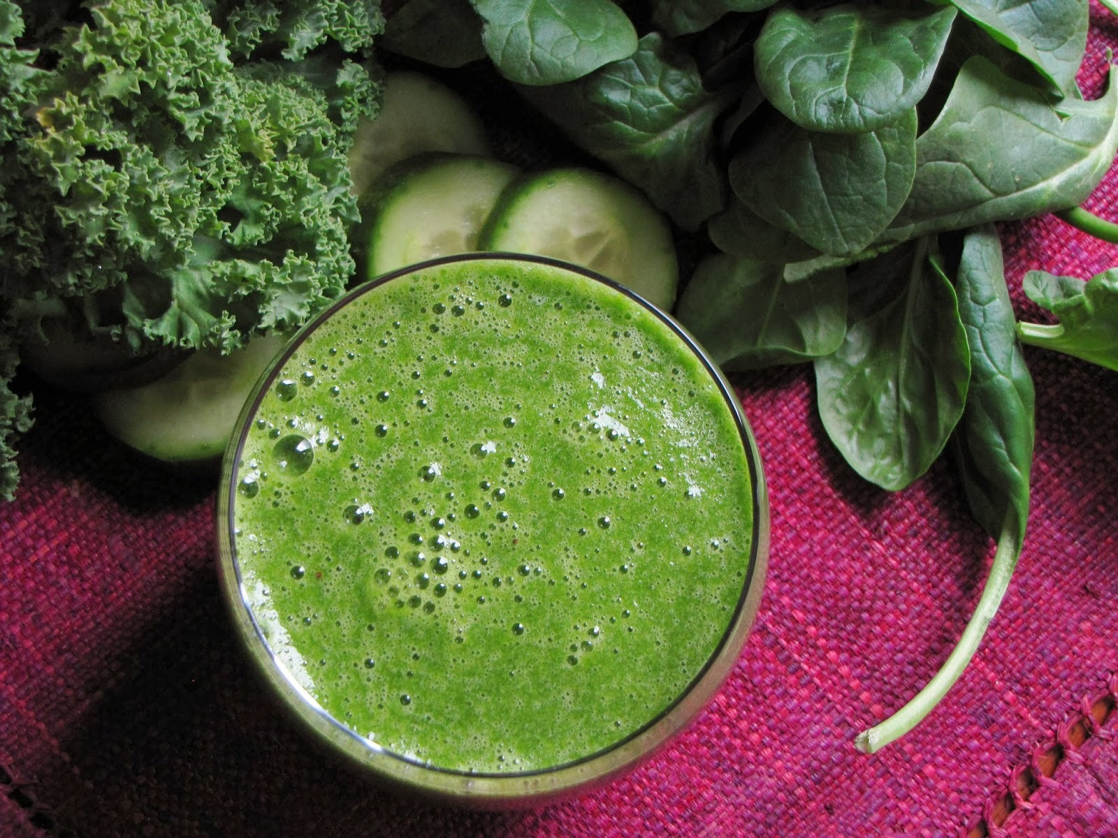 The Memory Dish - Green Smoothie inspired by California