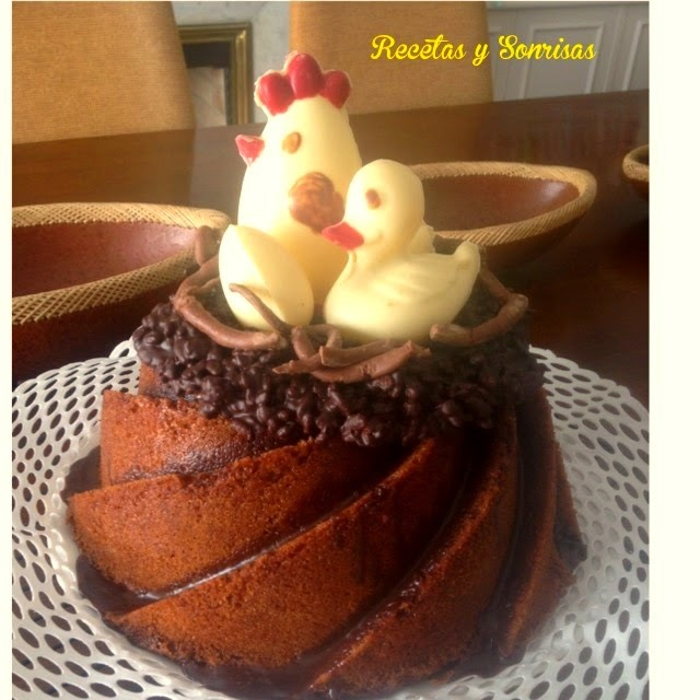 BUNDT DE NUTELLA.! BASE DE MIS MONAS 2015