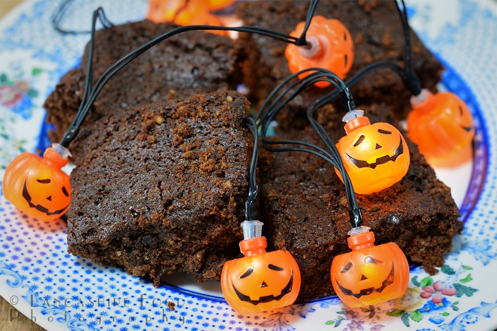 Sticky parkin - ideal for halloween or a traditional bonfire night treat