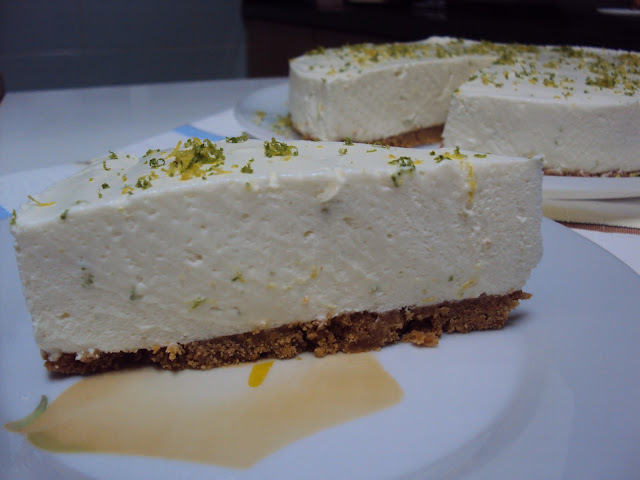 Lemon-Lime Cheesecake by Sofia B.