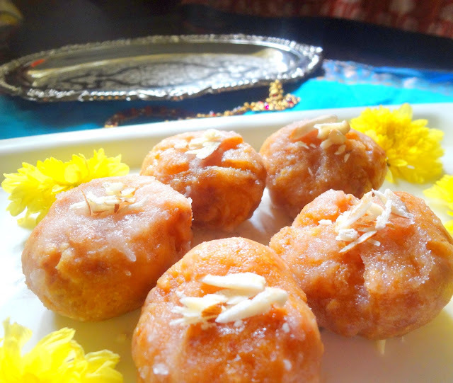 BADUSHA  /  BALUSHAHI  / DIWALI RECIPE  - Guest post for Indus Ladies