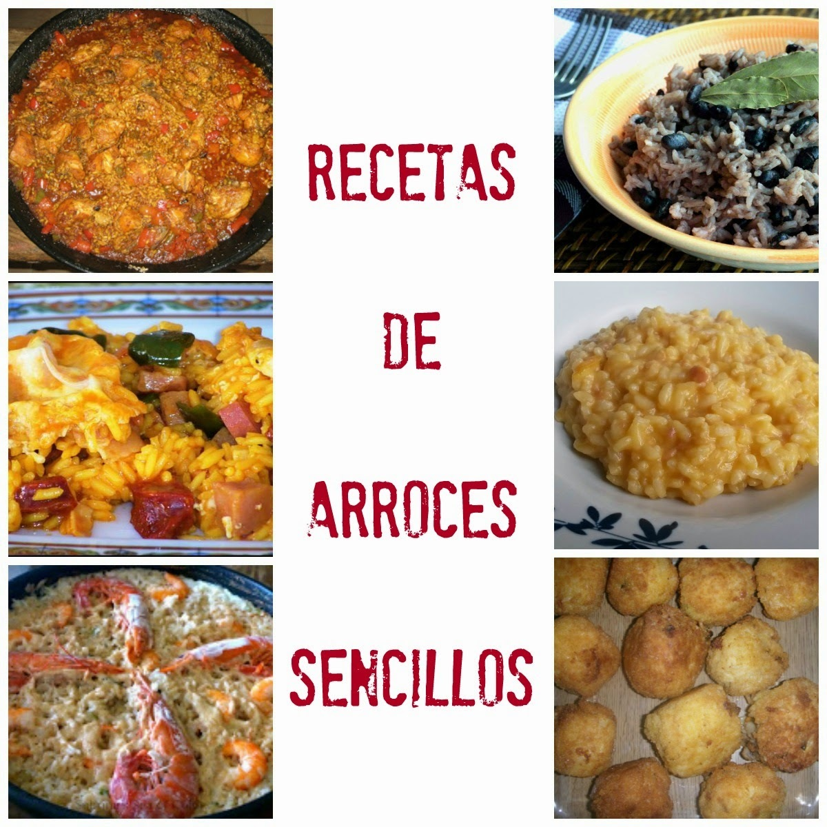 6 Arroces Sencillos