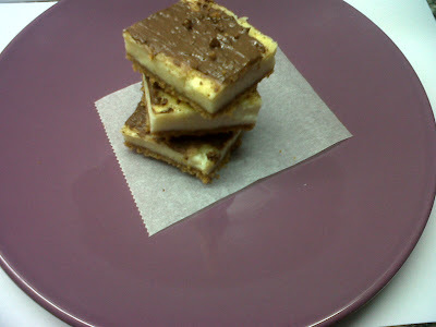 Cheesecake bars... y la Fira de la Mel