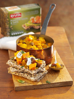 Ryvita è bella (Autumn recipes with Ryvita)