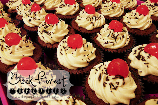 Black Forest Cupcakes {Cook: December 2012}
