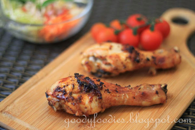Recipe: Chicken drumsticks/thighs with Paprika & Garlic (Bill Granger)