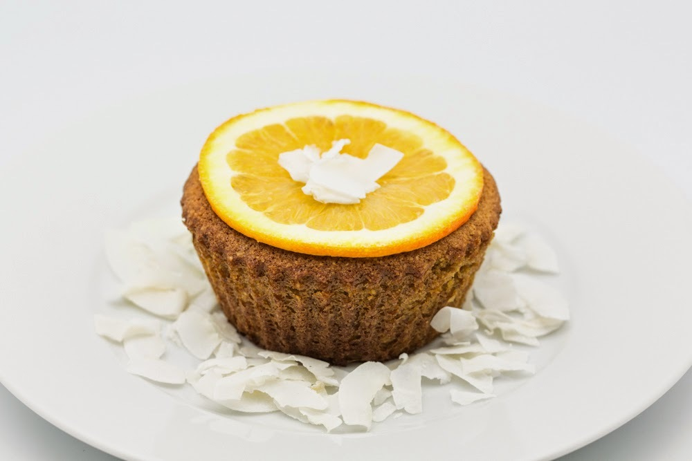 Gluten-Free Ricotta Coconut Orange Cakes
