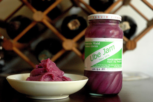 What's in the Fridge...Mountain Maid Ube Jam