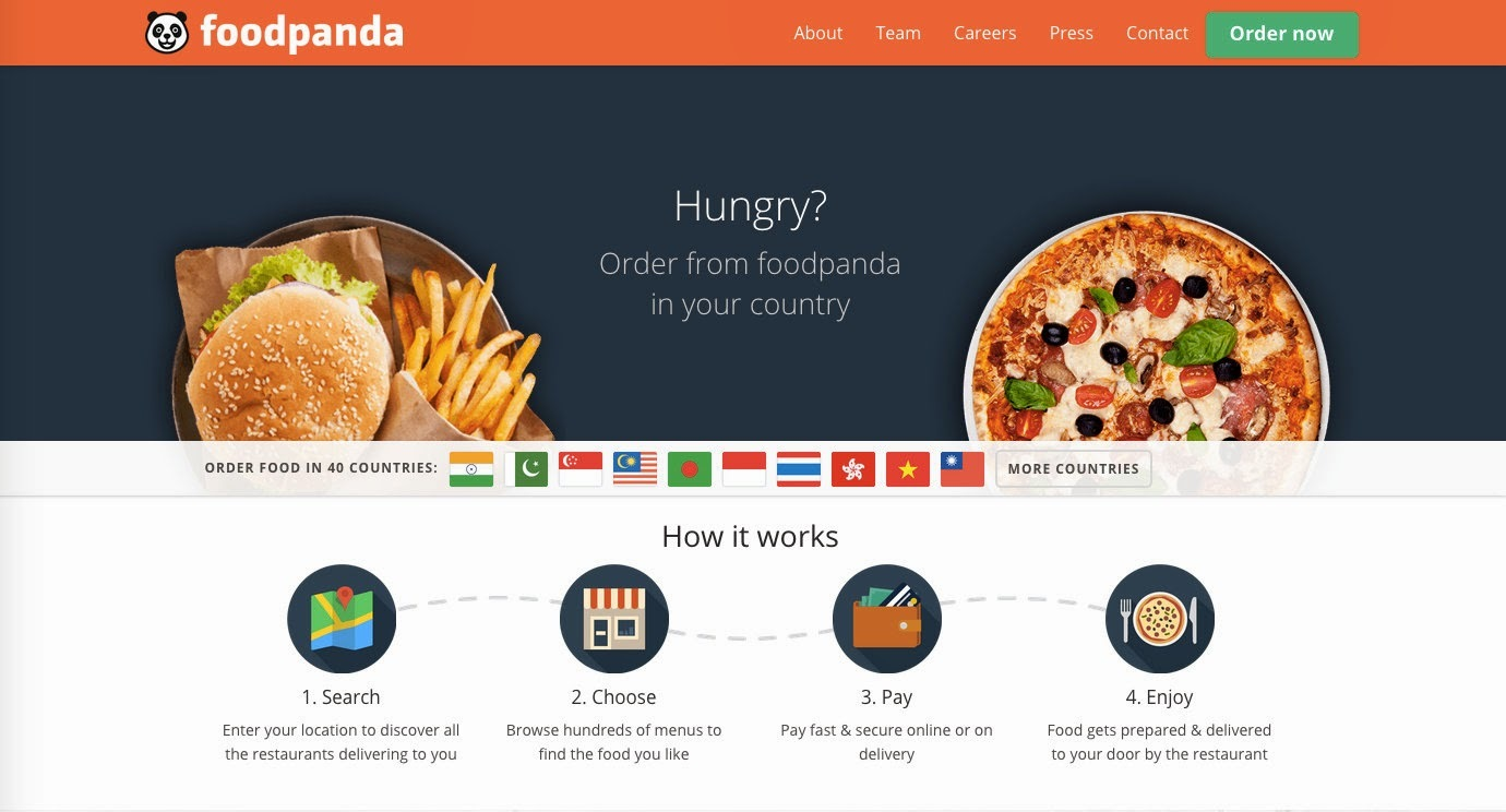 FoodPanda India: Online Food Ordering Made Easy