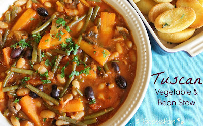 Tuscan Vegetable and Bean Stew - Recipe Feature