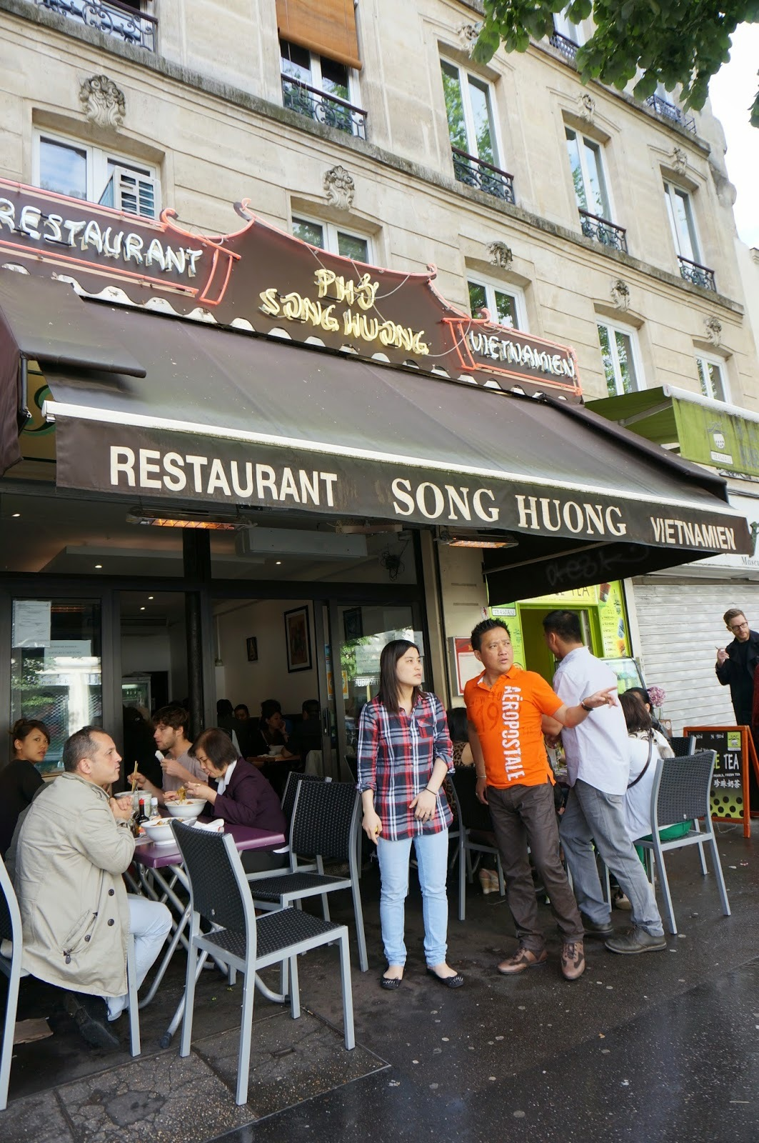 Restaurang - Song Huong (Paris)