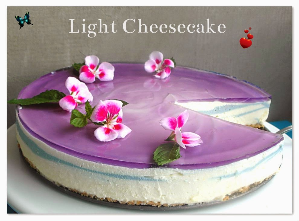 Sernik jak mgiełka - Light Cheesecake