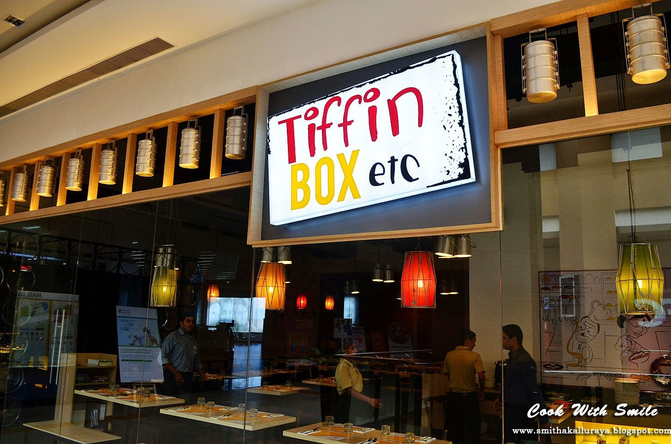 RESTAURANT REVIEW - TIFFIN BOX Etc., BANGALORE