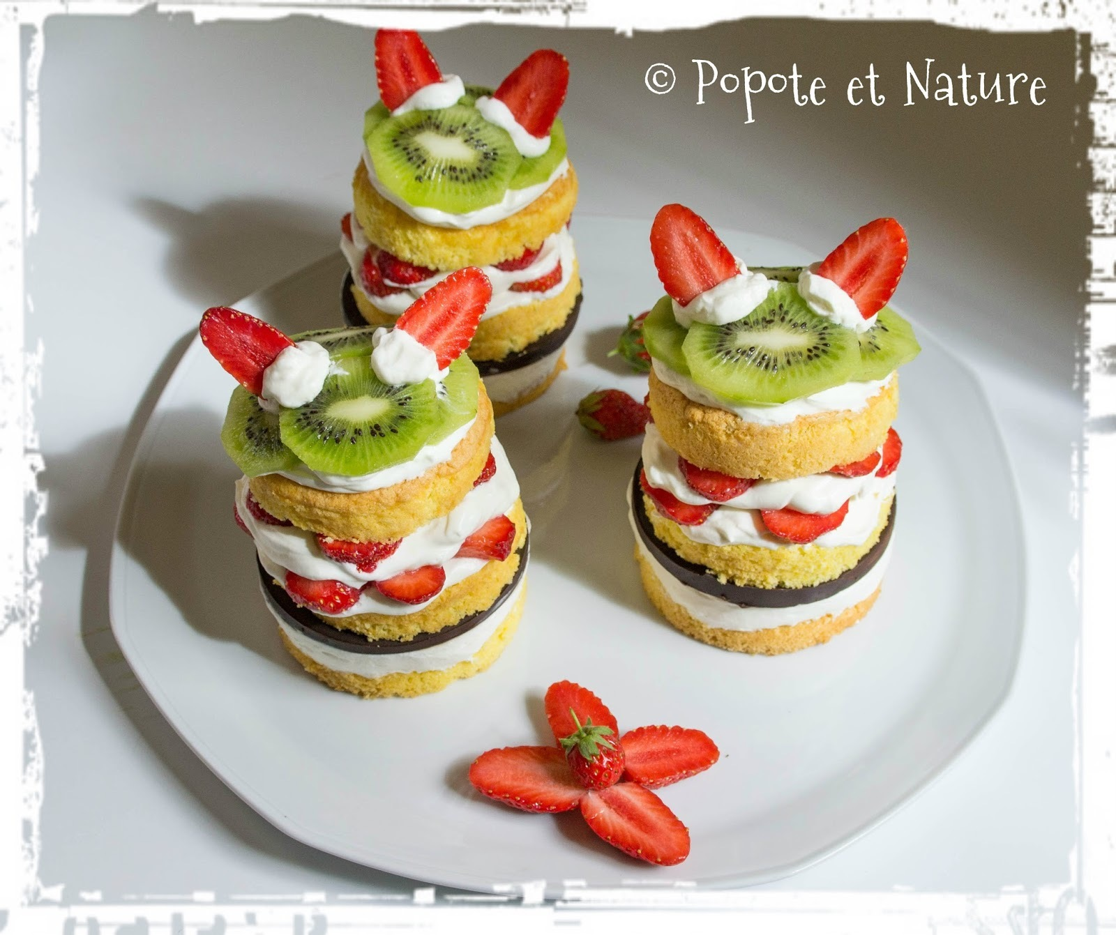 Mini layer cakes aux fruits - Bataillefood 12