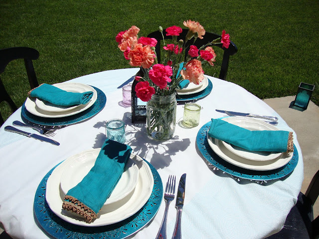 A Garden Inspired Patio Party