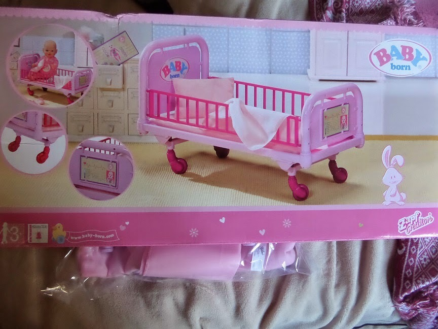 Baby Born Doctor Medical Bed review