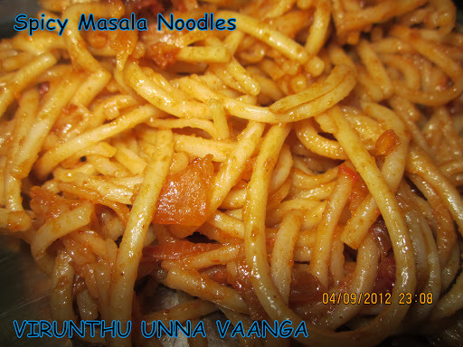 SPICY MASALA NOODLES