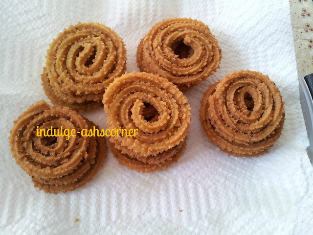 Bhajani Chakali-Maharahstrian Favourite snack.-Back to roots.