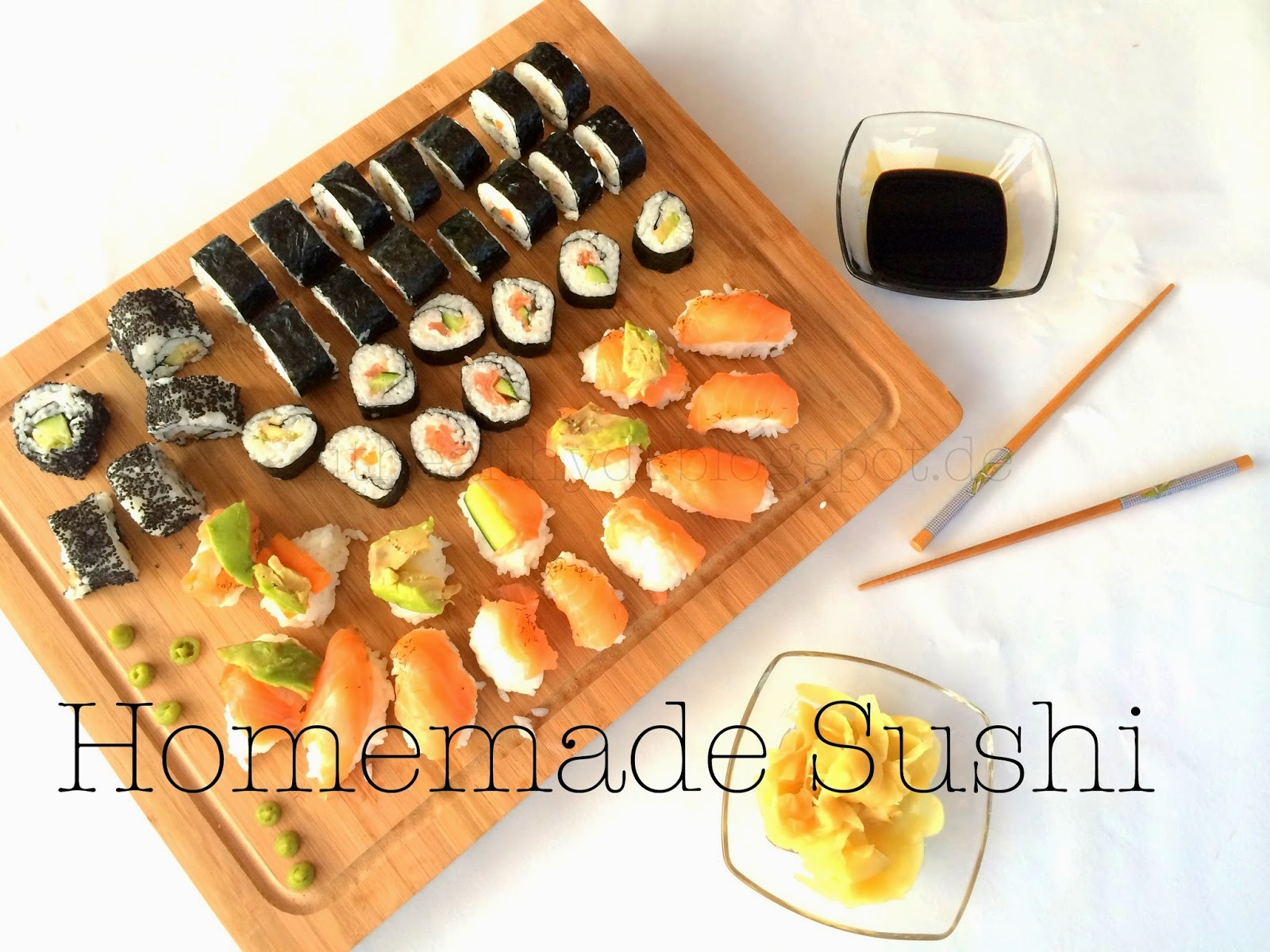 Clean Treats - Homemade Sushi