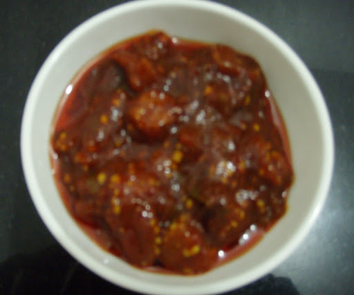 Brinjal Pickle (Aubergine Pickle)