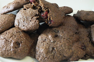 High fibre prune and flaxseed gluten free cookies