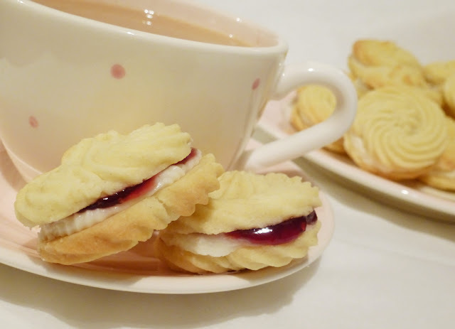 all butter viennese biscuits