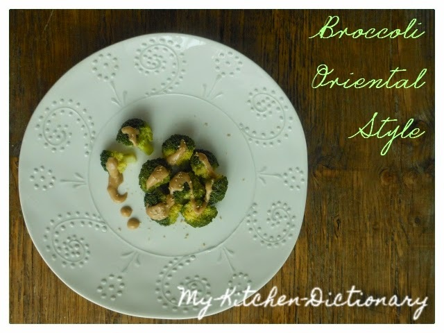 B come Broccoli in Salsa Orientale