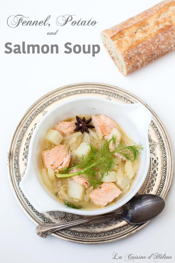 Fennel, Potato and Salmon Soup