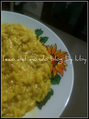 RISOTTO AL CURRY in pentola a pressione