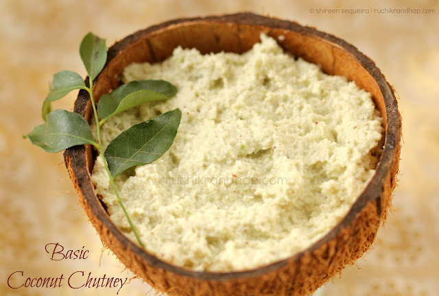 Basic Coconut Chutney