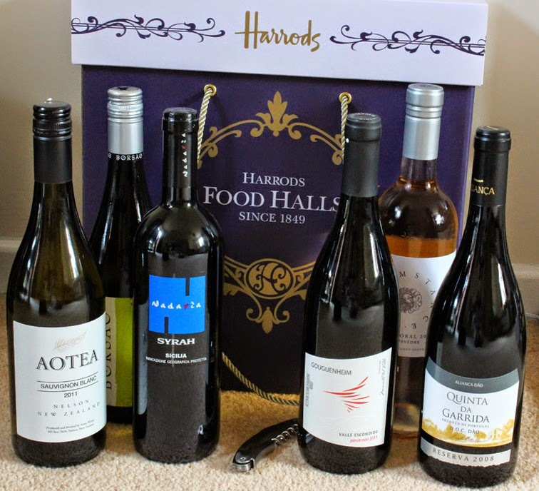 Wine Collection Hamper from Harrods - Review