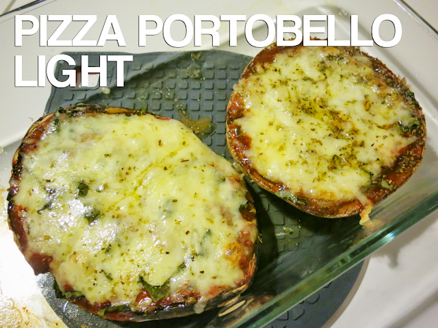 Pizza Portobello Light