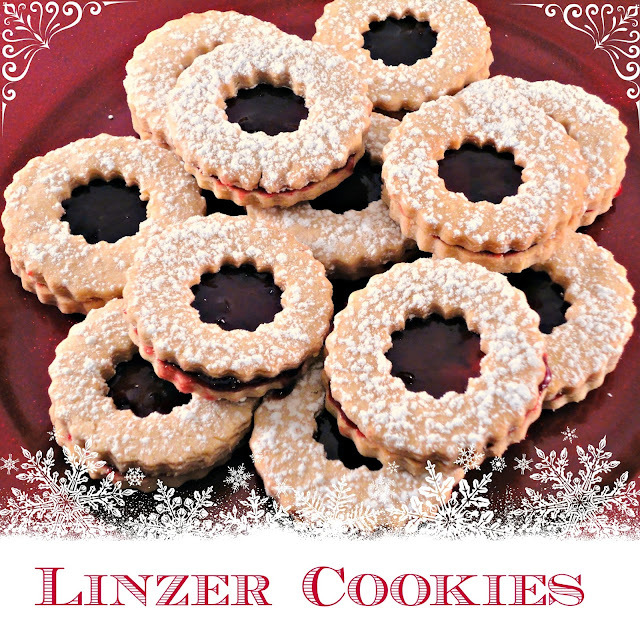 The Second day of Christmas - Linzer Cookies