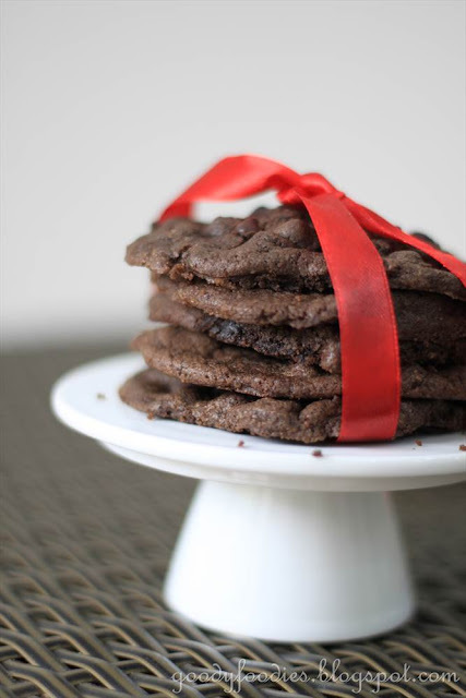 Recipe: Rich double chocolate brownie cookies (Ree Drummond)