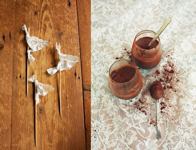 Vegan chocomousse