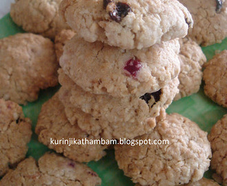 How to make oats cookies without eggs of tarla dalal recipes - myTaste