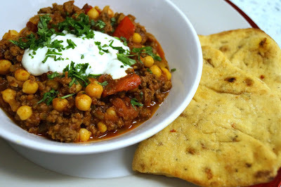 Chilli Marrakech with Lime & Chilli Yoghurt