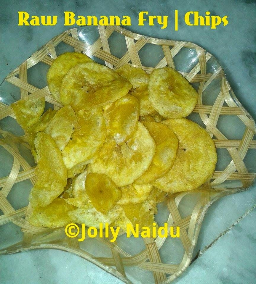 Raw Banana Fry | Banana Chips | Kacha Kela Chips