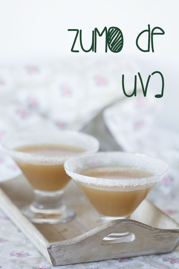 Zumo natural de uvas con Thermomix