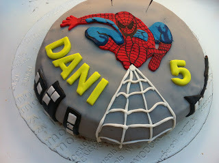 "TARTA SPIDERMAN ""FONDANT"""