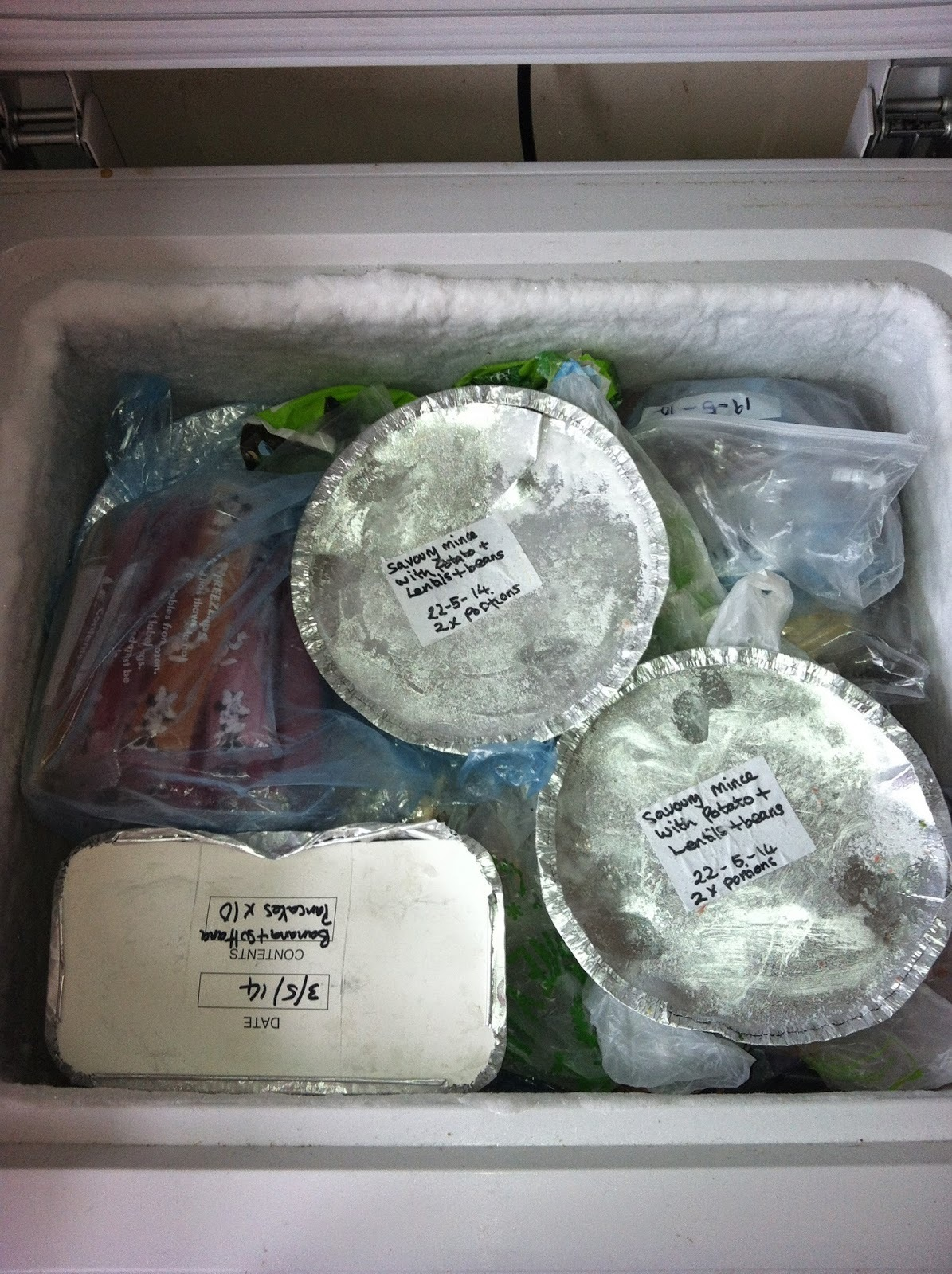 The contents of my freezer!