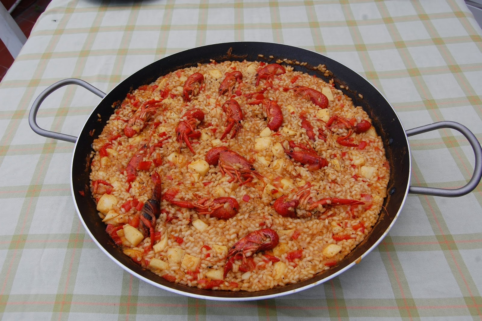 ARROZ CON CANGREJOS.