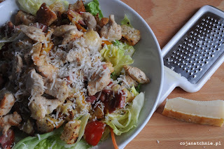 caesar salad - my upgraded version