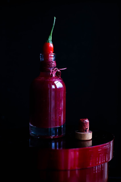SOS Z ŻURAWINY I OSTREJ PAPRYKI - CRANBERRY AND HOT PEPPER SAUCE