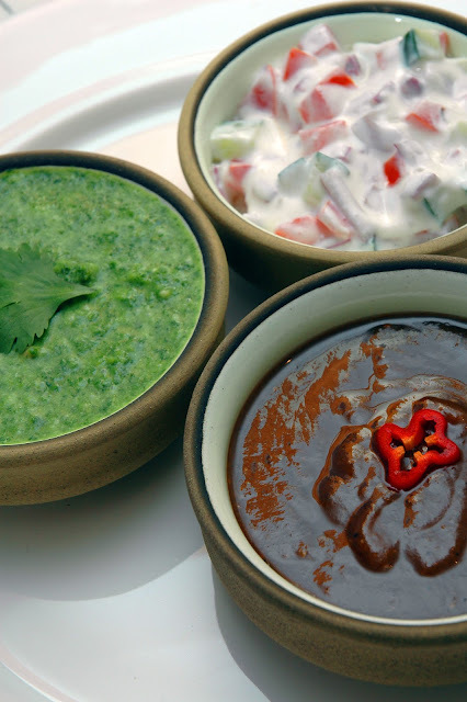 Indian Style Chutneys and Raita